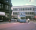 Bradford trolleybus in city centre - geograph.org.uk - 1333739.jpg