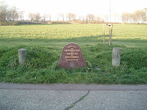 Shepherd's Bush murders - The memorial on Braybrook Street to DS Head, DC Wombwell and PC Fox