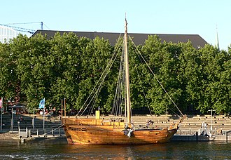 Cog (ship) - Reconstruction of the cog Roland von Bremen