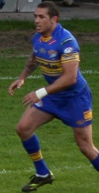 Brent Webb - Webb playing for Leeds in 2010
