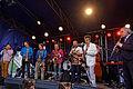 Brest - Fête de la musique 2014 - Big Band de Jazz - 002.jpg