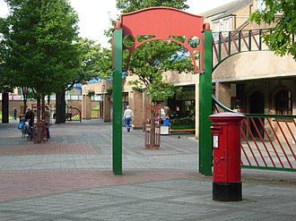 The Meadows, Nottingham - Bridgeway Shopping Centre in 2007.