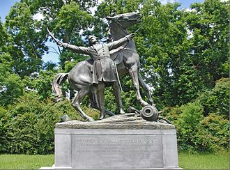 Lloyd Tilghman - Tilghman monument in Vicksburg National Military Park