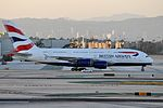British Airways, Airbus A380-841, G-XLEC - LAX (19094644583).jpg