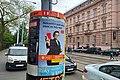 Brno, Veveří, předvolební plakát ČSSD 2019-05-14 18.59.27.jpg