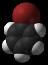 Bromobenzene-3D-vdW.png