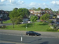 Brookmans Park Village Green and shops - geograph.org.uk - 8909.jpg