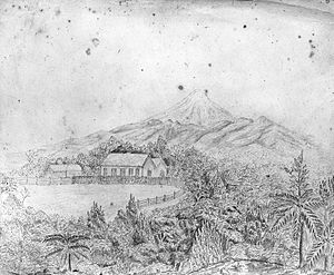 Henry Brown (New Zealand politician) - Brookwood, the home of the Rev. Henry Handley Brown, in Omata