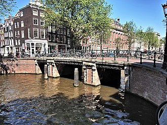 Negen Straatjes - Hartenstraat bridge over the Herengracht