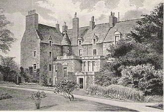 Bruntsfield - Bruntsfield House in 1897