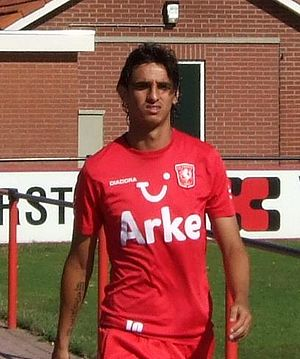 FC Twente player Bryan Ruiz
