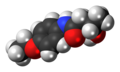 Bucetin molecule spacefill.png