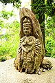 Buddha carving at Engakuji temple, Kamakura (3801199863).jpg