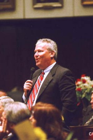 Buddy Dyer - Dyer speaking in 2000