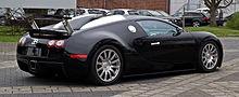 Bugatti Veyron 16.4 – Heckansicht (1), 5. April 2012, Düsseldorf.jpg