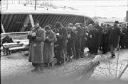 Bundesarchiv Bild 101III-Duerr-053-29, Lettland, KZ Salaspils, Essensausgabe
