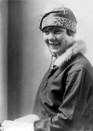 1936 Winter Olympics - Norwegian figure skater Sonja Henie
