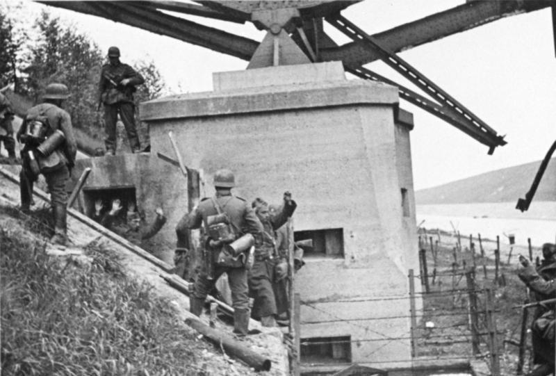 Bundesarchiv Bild 146-1974-061-017, Belgien, Albert-Canal, Gefangene