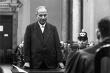 Carl Wentzel at his trial
