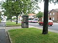 Bus passing a phone box in Copnor Road - geograph.org.uk - 861295.jpg