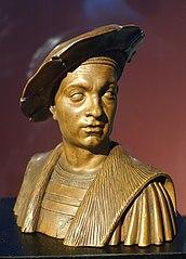 Bust of Philibert le Beau, Duke of Savoy