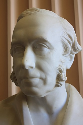 James Syme - Bust of Prof James Syme, by William Brodie, 1872, Old College, University of Edinburgh