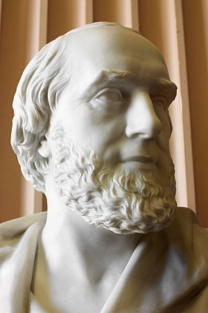 William Ballantyne Hodgson - Bust of William Ballantyne Hodgson by William Brodie (c.1875), Old College, Edinburgh University