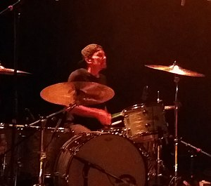 Bryan Mantia - Mantia drumming for Buckethead in 2017.