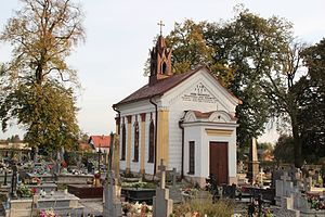 Bychawa - Catholic cemetery with Duniewski's mausoleum