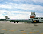 C-9B of VMR-1 at MCAS Cherry Point in 1978.JPEG