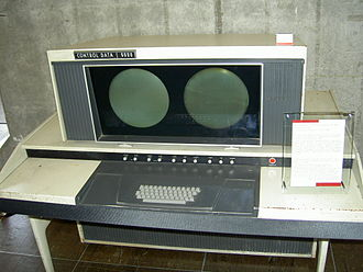 CDC 6000 series - Console for CDC 6600