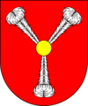 COA bishop SK Harrach Johann Ernst.png