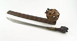 Balato (sword) - A Balato sword, pre-1918.