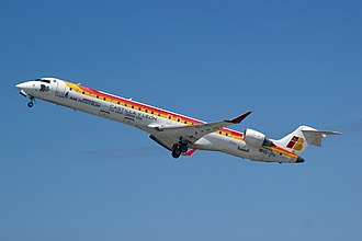 Bombardier CRJ700 series - Air Nostrum CRJ900 in 2014