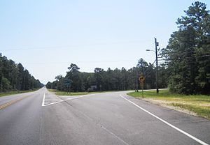 County Route 563 (New Jersey) - Northern terminus of CR 563 at Route 72