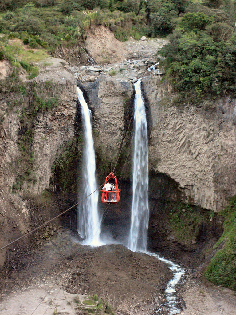 File:Cable Car, Manto de la novia waterfall.jpg - Wikimedia Commons