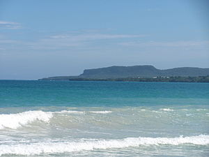 Samaná Peninsula - Cabo Samaná, at the easternmost of the peninsula