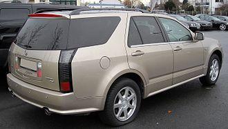 Cadillac SRX - Cadillac SRX (Europe)