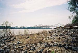 Cairo Mississippi River Bridge - Image: Cairo Mississippi River Bridge