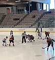 Calgary Inferno Facing off against Montreal 25 November 2018.jpg