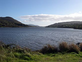 Ring of Gullion AONB - Camlough Lake, October 2006