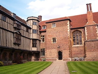 Queens' College, Cambridge - Cloister Court