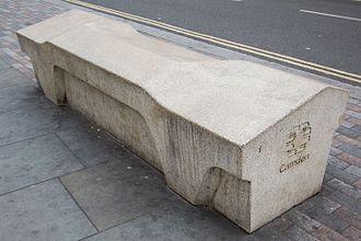 Camden bench - A Camden bench