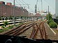 Camden station viewed from northbound Light Rail train, June 2003.jpg