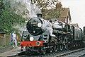 Camelot locomotive at Sheffield Park Station, East Sussex - geograph.org.uk - 897103.jpg