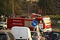 Camión motobomba de bomberos de Protección Civil de Porriño, en la parroquia de Vincios, Gondomar.jpg