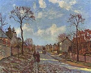Route de Versailles, Louveciennes