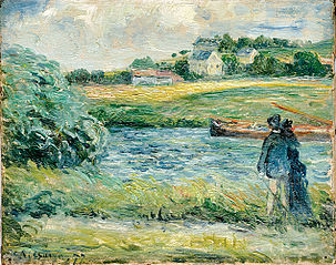 A stroll on the banks of the Oise