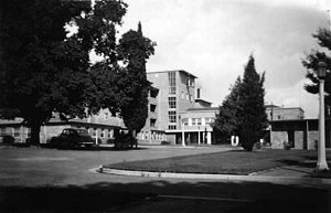 Royal Canberra Hospital - Royal Canberra Hospital on Acton Peninsula 1948