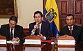 Canciller Falconí ofrece rueda de prensa para anunciar la liquidación de la deuda venezolana a los exportadores ecuatorianos (4109708807).jpg